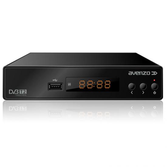 TDT AVENZO HD T2 4012 USB PVR MPEG4 HDMI