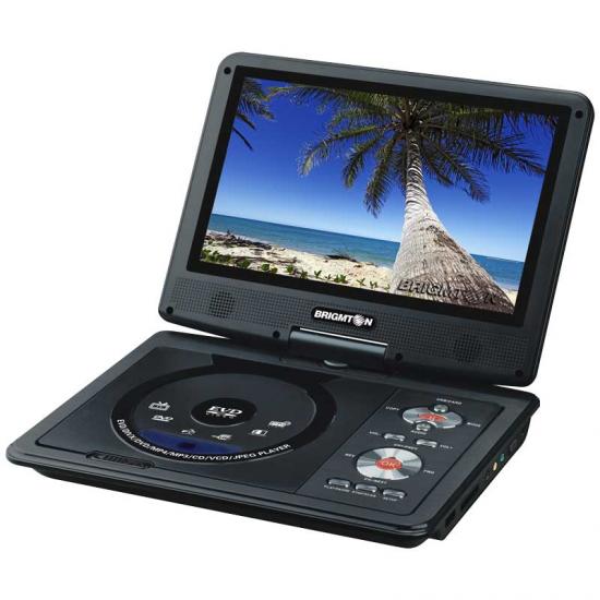 DVD BRIGMTON 9 PORTATIL BDVD-1093 USB MANDO JUEGO