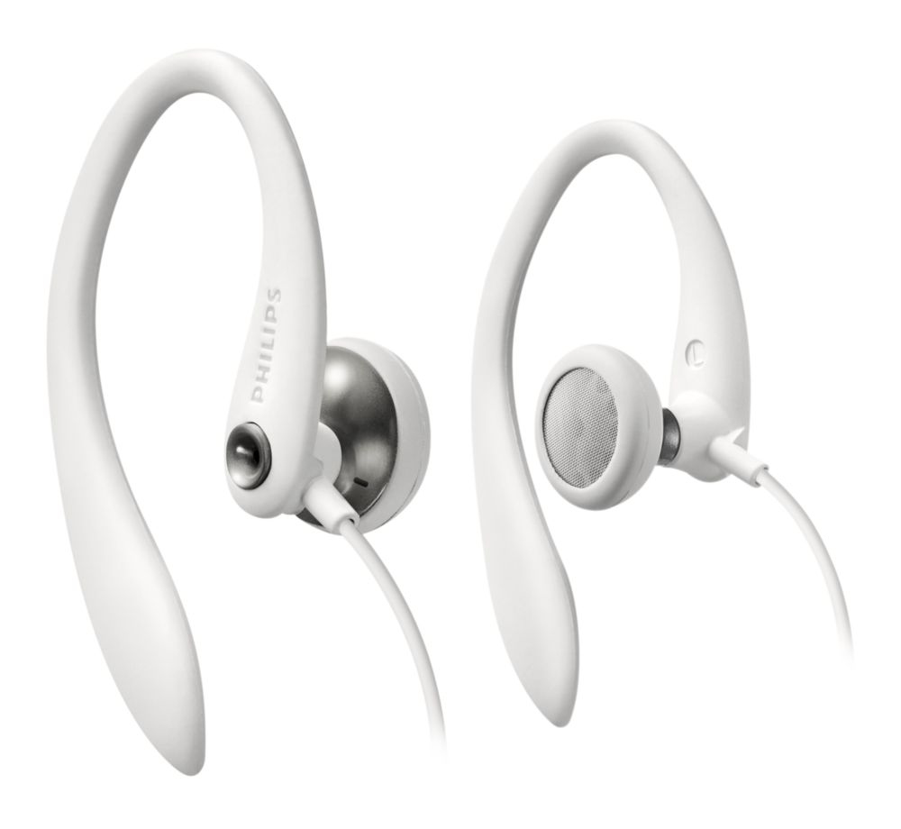 AURICULARES PHILIPS SHS3300WT/10 SPORTS BLANCO