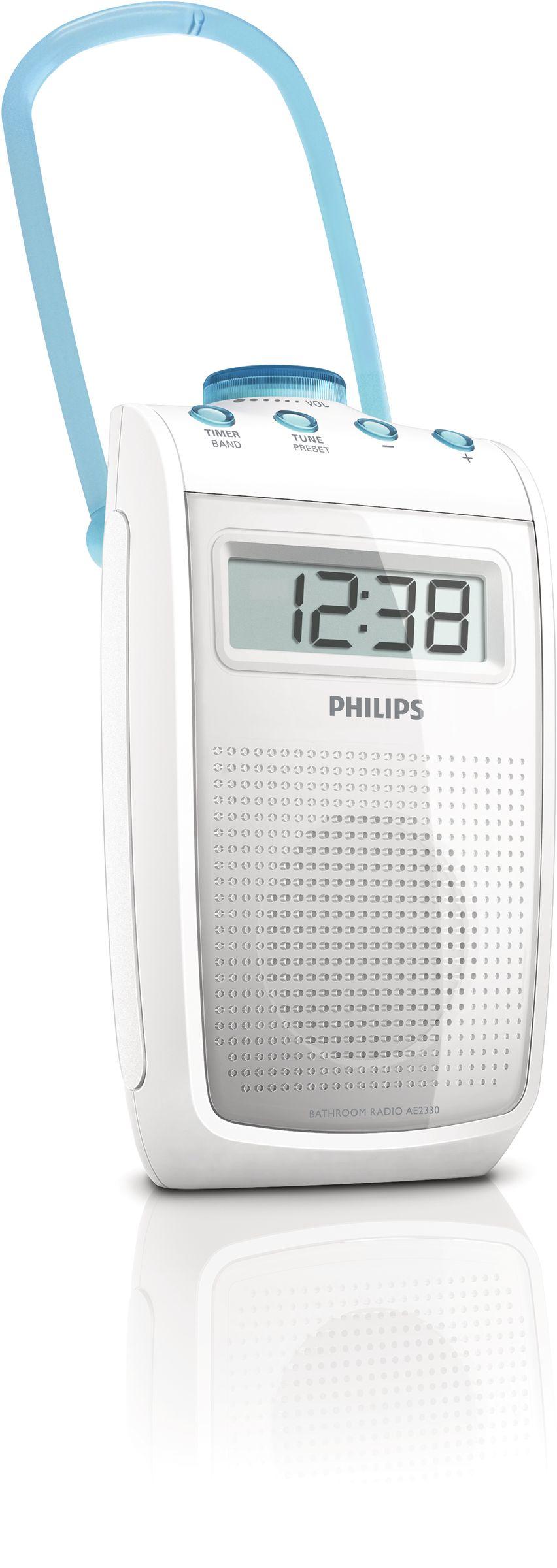 RADIO PHILIPS PORTATIL AE2330/00 PARA DUCHA