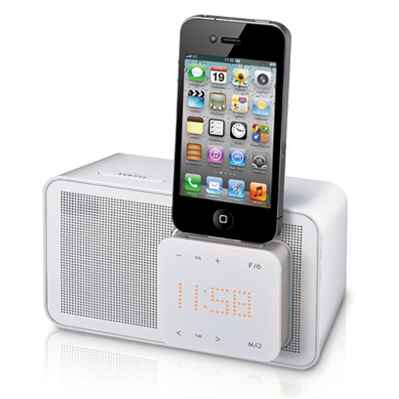 DOCKSTATION LG ND1520 IPOD +RELOJ 8W USB