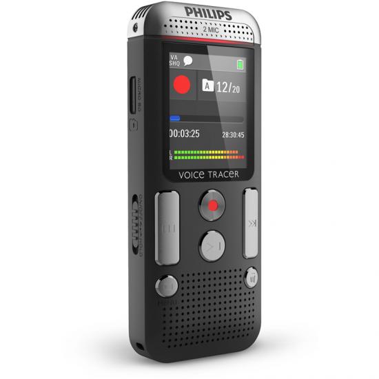 GRABADORA PHILIPS DVT2500/10  4GB+MICRO SD STEREO