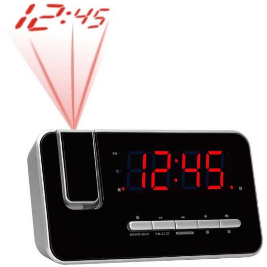 RADIO RELOJ DENVER CRP-618 FM PROYECION