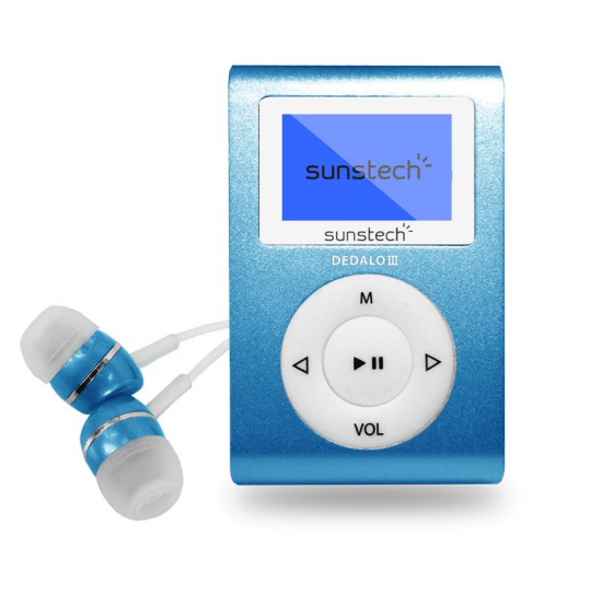 REPRODUCTOR MP3 SUNSTECH DEDALOIII8GBBL 8GB 1,1