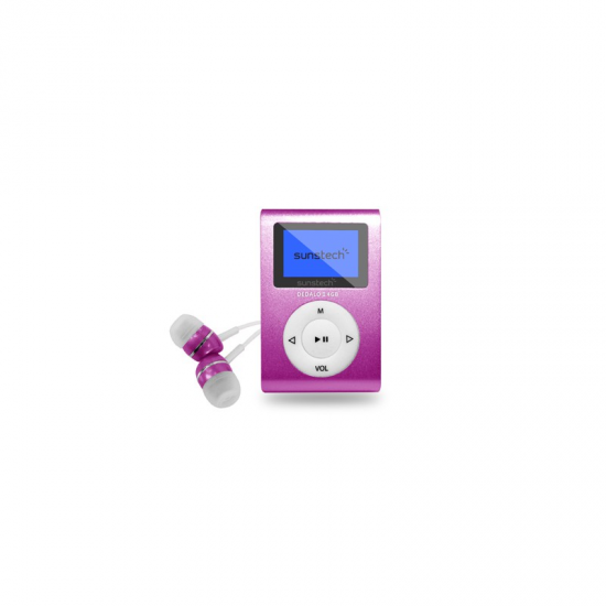 REPRODUCTOR MP3 SUNSTECH DEDALOIII8GBPK 8GB 1,1