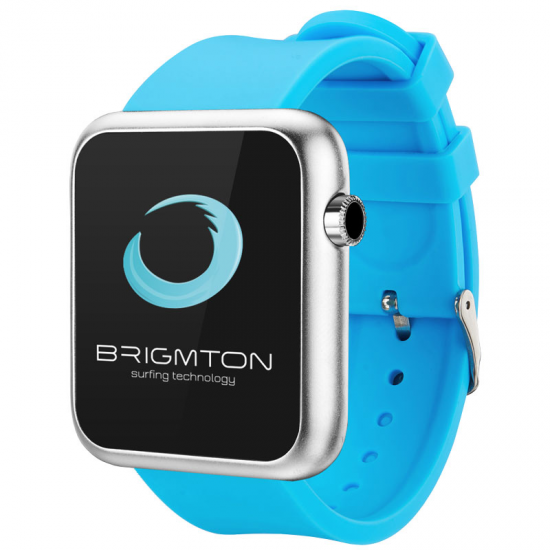 SMARTWATCH BRIGMTON BWATCH-BT3 A AZUL BLUETOOTH