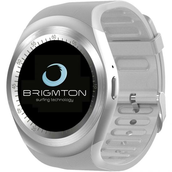 SMARTWATCH BRIGMTON BWATCH-BT7 BLUETOOTH BLANCO