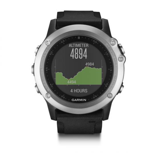 RELOJ GPS GARMIN FENIX 3 HR PLATA 010-01338-77