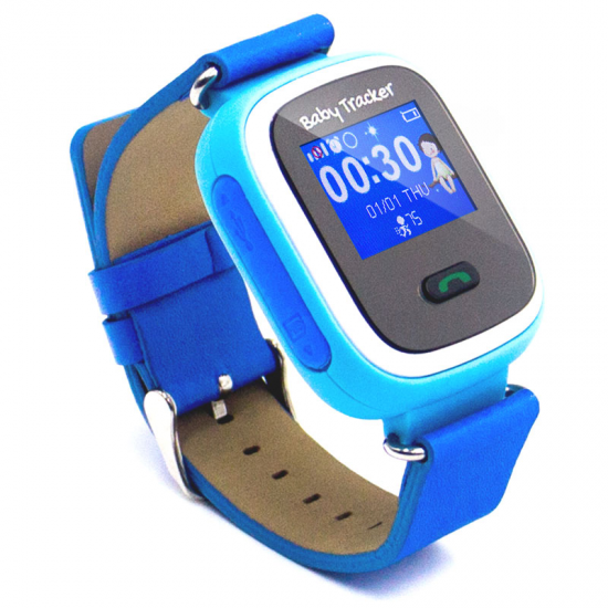 RELOJ TRACKER BABY OVERNIS BLUE GPS POSICIONAMIENT