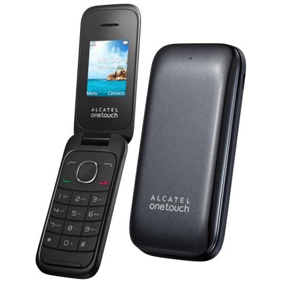 TELEFONO LIBRE ALCATEL 10-35 NEGRO FLIP