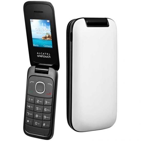 TELEFONO LIBRE ALCATEL 10-35 BLANCO FLIP
