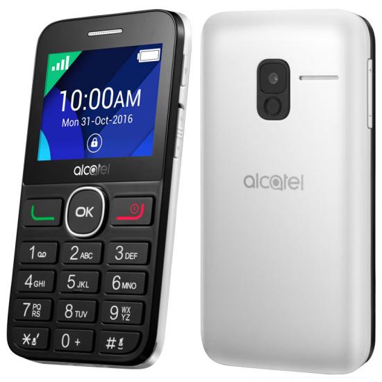 TELEFONO LIBRE ALCATEL 20-08G T. GRANDES BK/WHITE