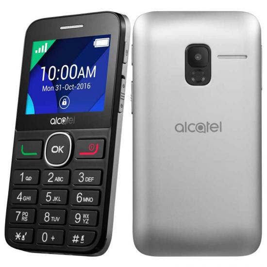 TELEFONO LIBRE ALCATEL 20-08G T. GRANDES BK/SILVER