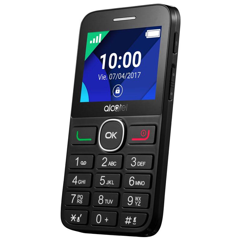 TELEFONO LIBRE ALCATEL 20-08G T. GRANDES BLACK