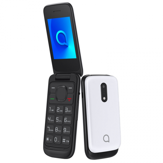 TELEFONO LIBRE ALCATEL 20-53D PURE WHITE