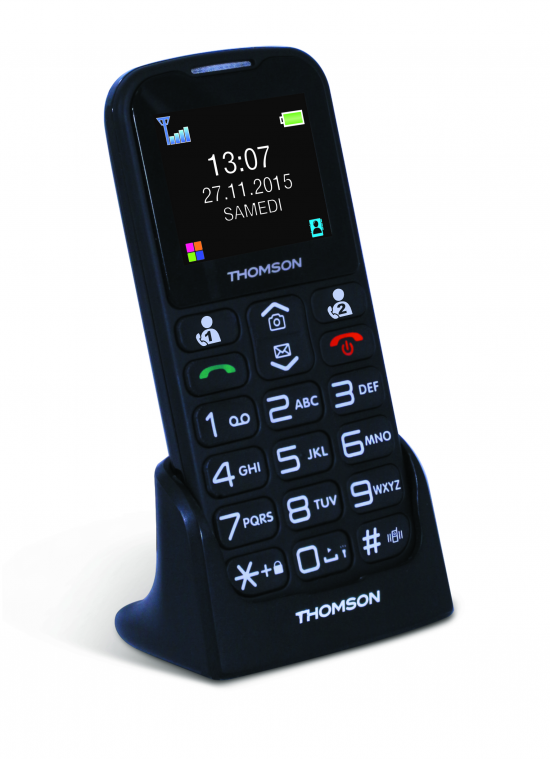 TELEFONO LIBRE THOMSON SEREA 51 COLOR NEGRO