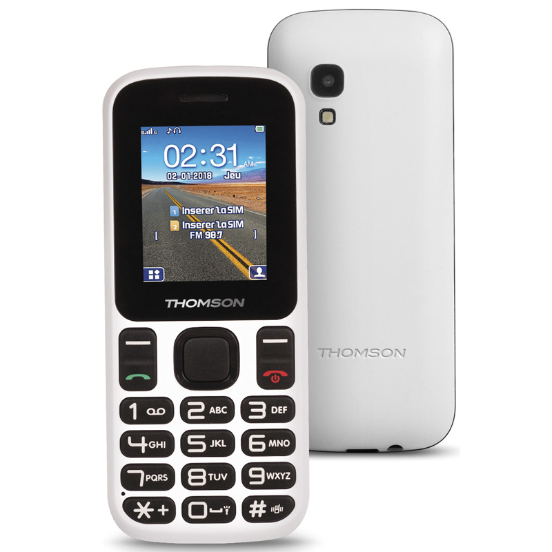 TELEFONO LIBRE THOMSON TLINK T12 CAMARA BLANCO
