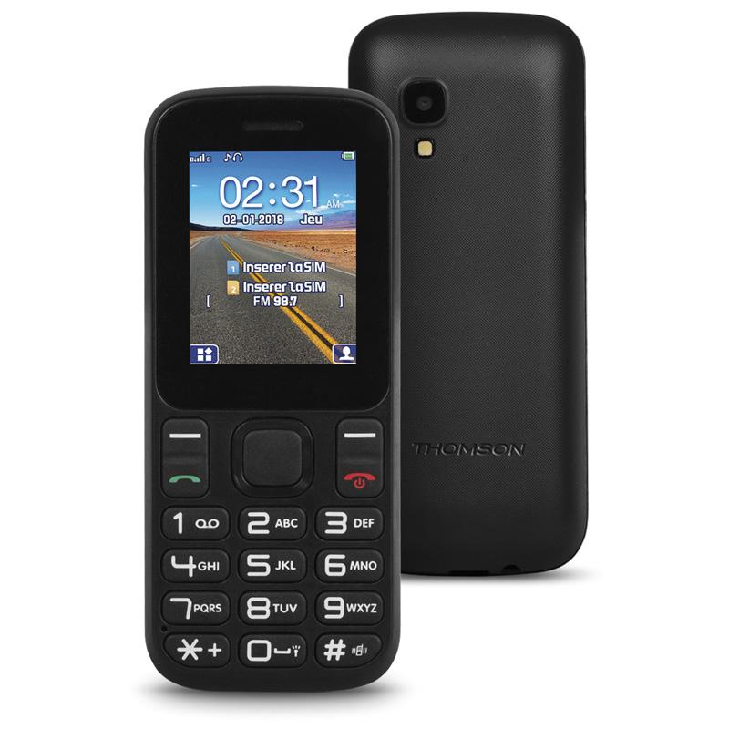 TELEFONO LIBRE THOMSON TLINK T12 CAMARA NEGRO