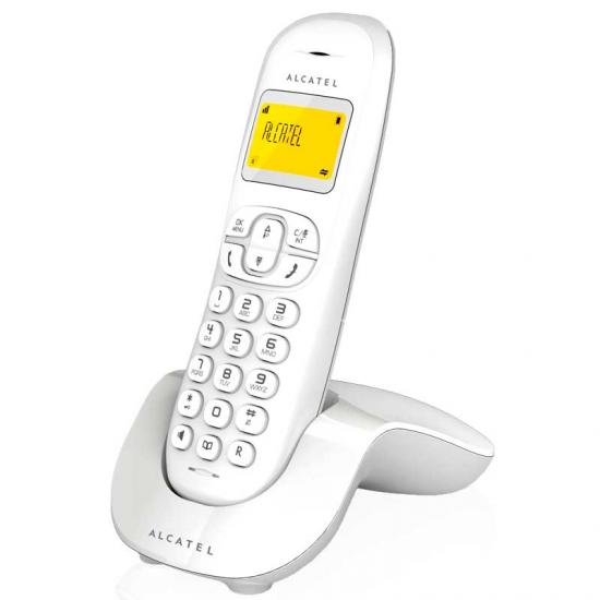 TELEFONO ALCATEL C-250 WHITE DECT M. LIBRES