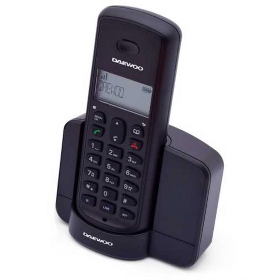 TELEFONO DAEWOO DTD-1350 DECT DUO NEGRO