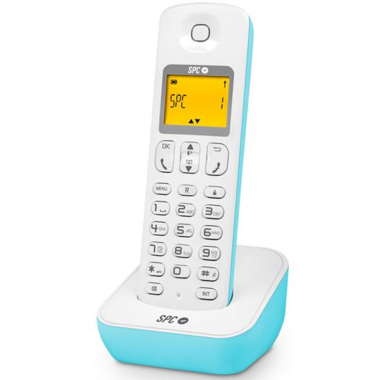 TELEFONO TELECOM 7280 A AZUL DECT P. ILUMINADA
