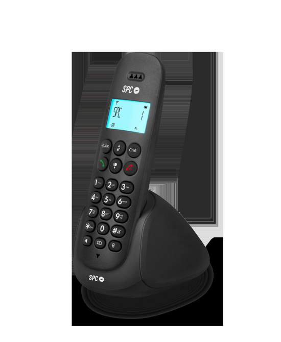TELEFONO TELECOM 7310N NEGRO P. ILUMINADA M. LIB