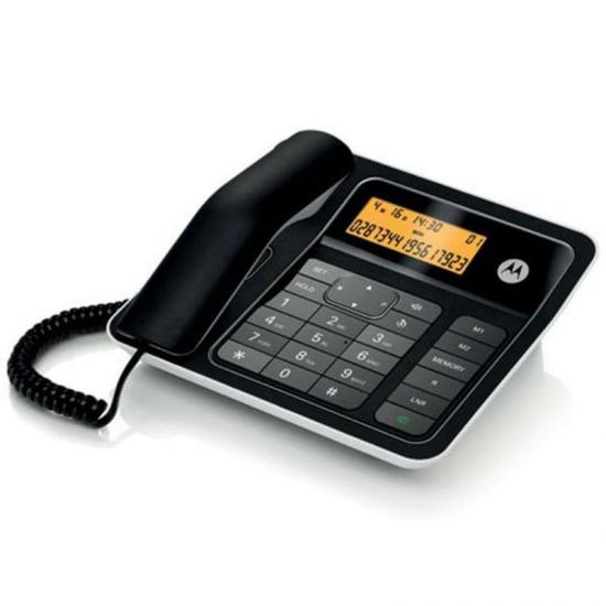 TELEFONO MOTOROLA SOBREMESA CT330 NEGRO