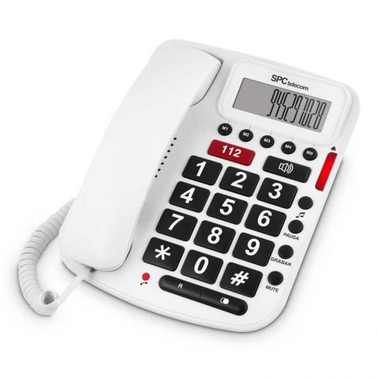 TELEFONO TELECOM 3293B LIMITACIONES SOBREMESA