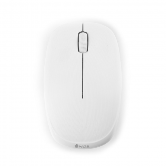 RATON NGS FOGWHITE BLANCO WIRELESS 2.4 Ghz USB