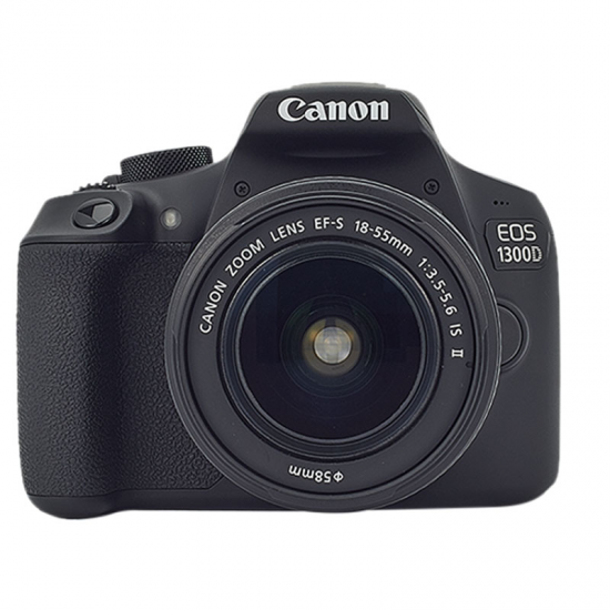CAMARA CANON EOS1300D EF-S III REFL 18-55 18M