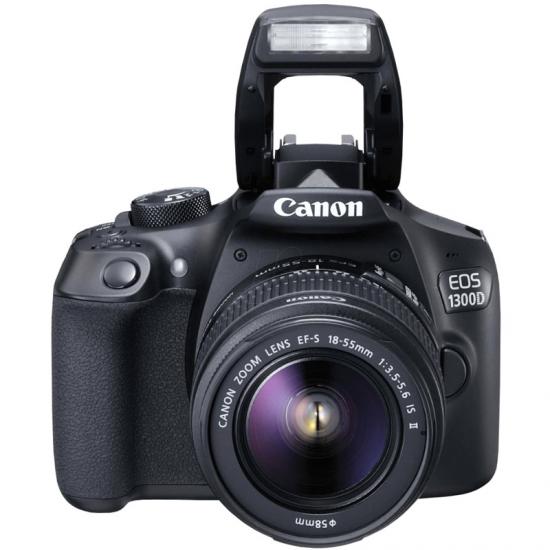 CAMARA CANON EOS1300D IS II REFL 18-55 18MPX