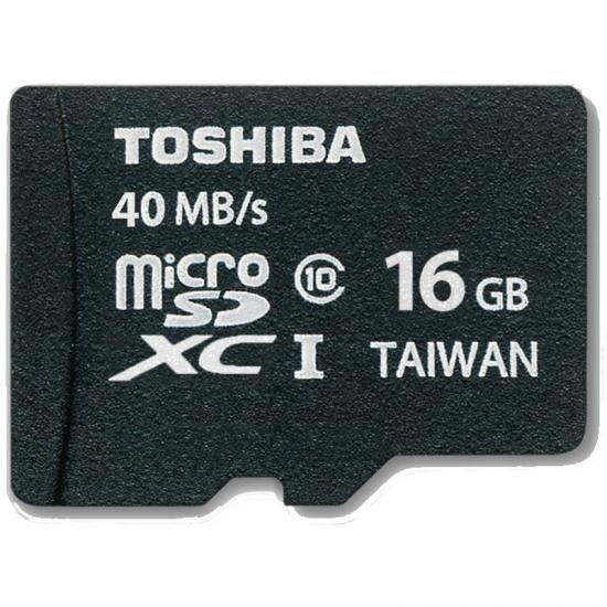 TARJ. MEMORIA TOSHIBA MICRO SD 16GB CLASS 10 ADAP.