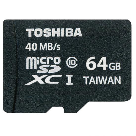 TARJ. MEMORIA TOSHIBA MICRO SD 64GB CLASS 10 ADAP.